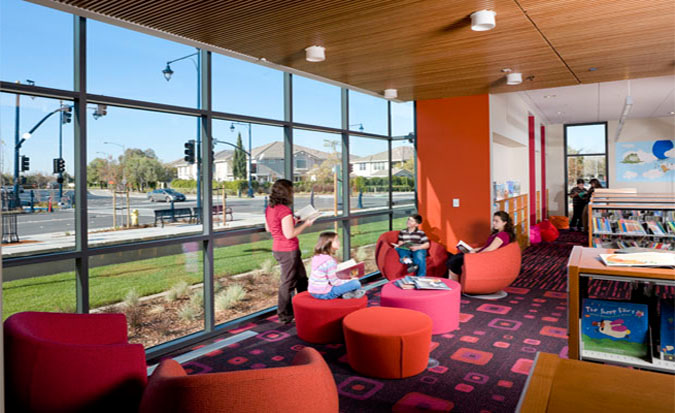 Milpitas Library Study Room